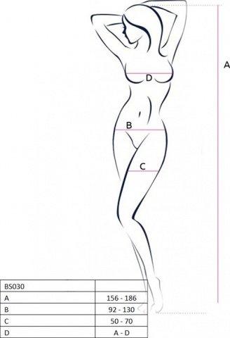 Боди-комбинезон, белый, размер универсальный, фото 2