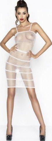 Платье прозрачное, белое, размер универсальный