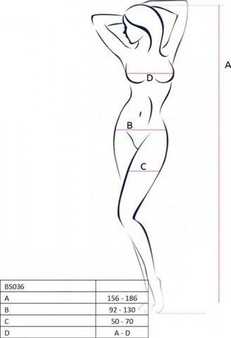 Боди-комбинезон на одно плечо, красный, размер универсальный, фото 2