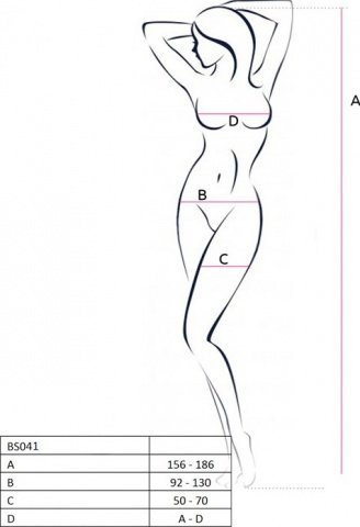 Боди-комбинезон на одно плечо, черный, размер универсальный, фото 2