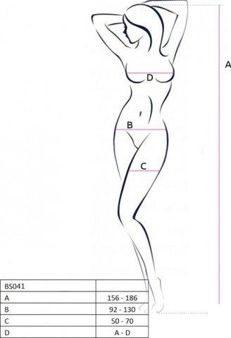 Боди-комбинезон на одно плечо, белый, размер универсальный, фото 2