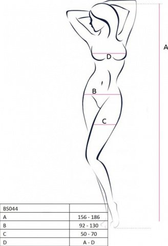 Боди-комбинезон с открытым животиком, белый, размер универсальный, фото 2