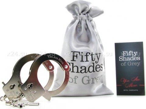 Наручники металлические Metal Handcuffs 27 см, фото 6