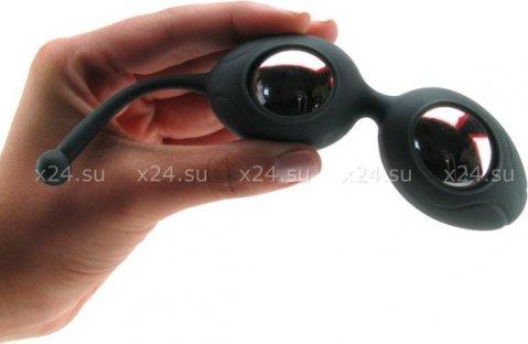 Вагинальные шарики в силиконовой оболочке Silicone Pleasure Balls, фото 5