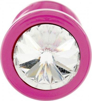 Anni Round T1 Анальная пробка (розовая) диам. 25 мм, фото 3