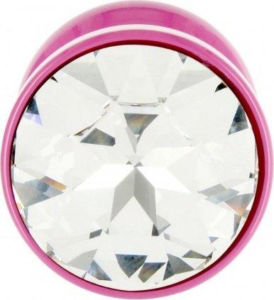 Anni Round T2 Анальная пробка (розовая) диам. 30 мм, фото 3