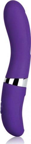 Вибратор силикон фиолет