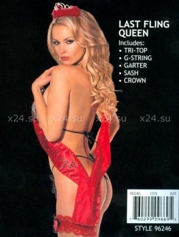 Костюм (черно-красный) королевы, фото 2