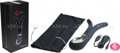 Вибратор G-Vibe чрный 24 см, фото 3