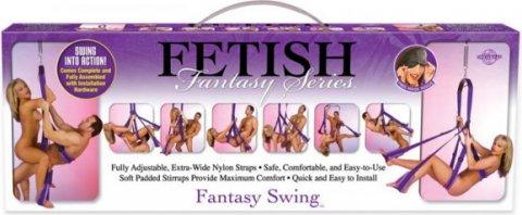 Секс -качели Fantasy Swing фиолетовые, фото 11