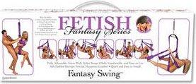 Секс -качели Fantasy Swing фиолетовые, фото 14