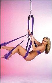 Секс -качели Fantasy Swing фиолетовые, фото 6