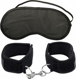 Мягкие оковы First-Timer's Cuffs Black 217900PD, фото 2