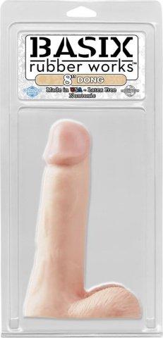 Фаллоимитатор с мошонкой телесного цвета Dong Flesh 420521PD 19 см, фото 3