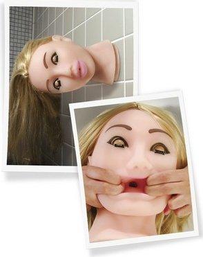 Головая-мастурбатор Fuck My Face Blonde, фото 5