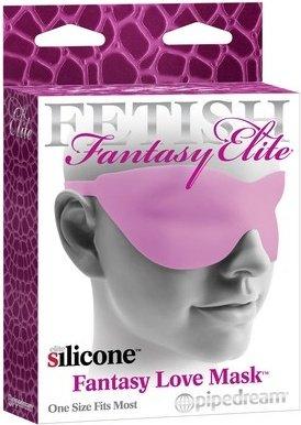 Маска закрытая fantasy love mask розовая