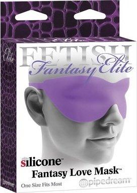 Маска закрытая fantasy love mask фиолетовая