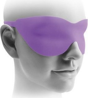 Маска закрытая fantasy love mask фиолетовая, фото 2