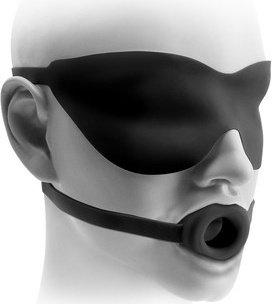 ����� ��� bdsm-����: ����-����������� small gag &amp mask 1,5 ������, ���� 2