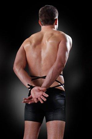 Боксеры для узника черные, s/m, фото 2