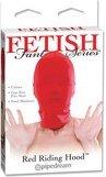 Маска на лицо закрытая красная 385615 | Маски и кляпы | Секс шоп Мир Оргазма