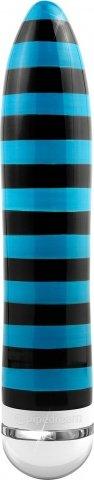 Вибромассажер ceramix no 10 керамический бирюзово-черный
