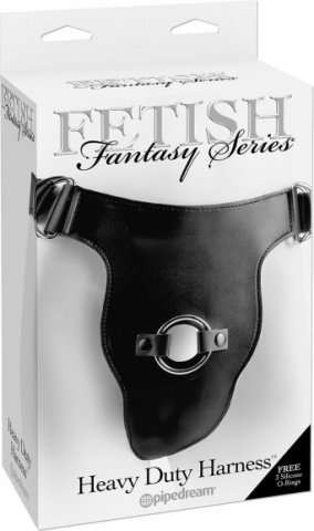 Страпон-трусики Fetish Fantasy Series Heavy Duty Harness женские для крепления фаллоимитаторов черны, фото 2