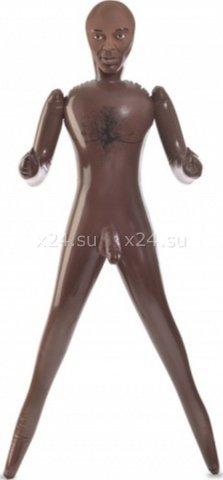 Кукла надувная-мужчина Big Cock Brad, реалистичный пенис и анус 55 см, фото 2