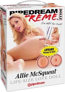 Кукла надувная Allie McSqueal, реалистичная вагина и анус, фото 3
