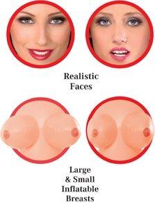Куклы надувные - сестры Slutty Sisters, реалистичная вагина и анус, 2 шт, фото 4
