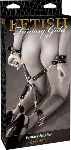 Фиксаторы на руки и ноги с соединительным элементом Fantasy Hogtie, фото 3