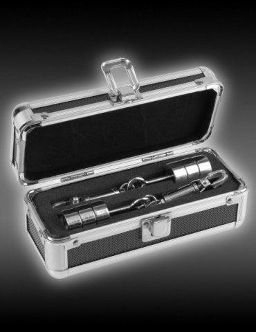 Зажимы на соски Metal Worx Nipple Clamps с регулируемым весом металлические, фото 4