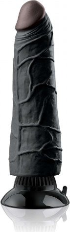 Фаллоимитатор с присоской, цвет Мулат 23 см, фото 3