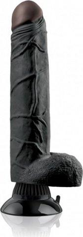 Фаллоимитатор с присоской, цвет Мулат 26 см