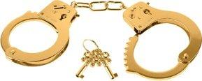 Золотые металлические наручники Gold Metal Cuffs, фото 3