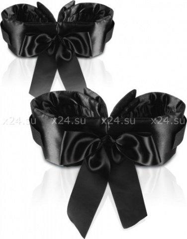 Фиксаторы на руки и ноги с атласными бантами Bowtie Cuffs, фото 2