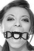 Кляп рамка черный | Кляпы | Интернет секс шоп Мир Оргазма