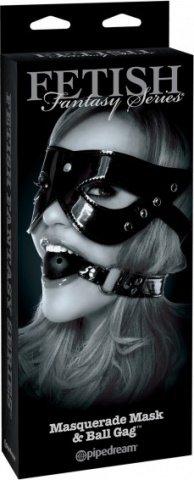 Лакированный комплект Masquerade Mask &amp, фото 3