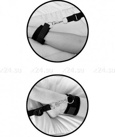 Фиксаторы с креплением под матрас Wraparound Mattress Restraints, фото 4