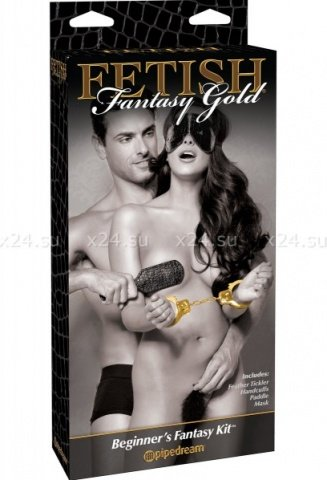 Набор для пар в стиле bdsm beginner's fantasy kit