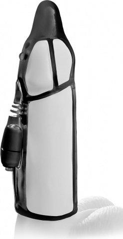 Насадка удлинитель с вибацией водонепронецаемая черная, фото 6