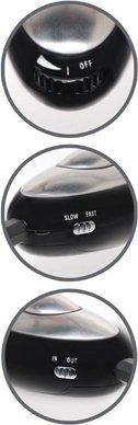Стимулятор пулька silver bullet для электростимуляции серебристый, фото 5