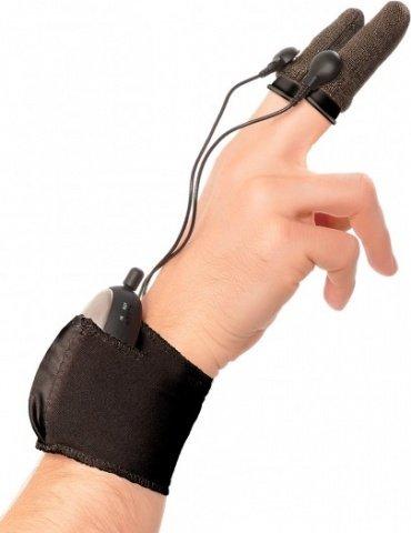 Насадки на пальцы finger fun для электростимуляции черные