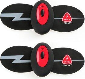 Накладки самоклеющиеся proffesional wireless elektro-massage kit для электростимуляции черные, фото 5