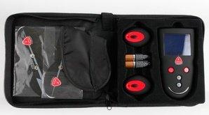 Накладки самоклеющиеся proffesional wireless elektro-massage kit для электростимуляции черные, фото 7