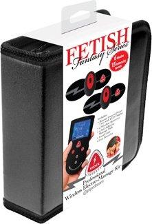 Накладки самоклеющиеся proffesional wireless elektro-massage kit для электростимуляции черные, фото 9