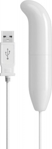 Вибромассажер G - spot, с USB зарядным устройством, фото 3