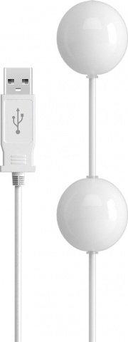Вагинальные шарики с вибрацией, с USB зарядным устройством