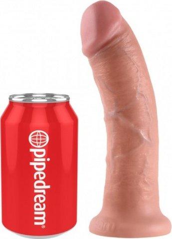 Фаллоимитатор 8 cock на присоске телесный 20 см, фото 3