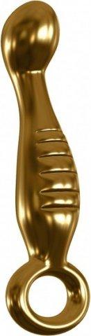 Фаллоимитатор G spot G04 золотой 17 см